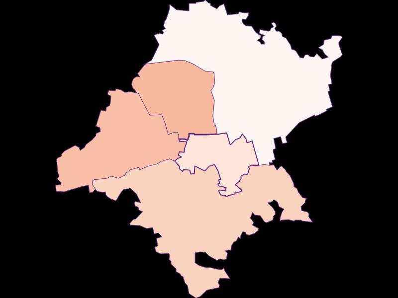 Activity rate in Judenau-Baumgarten