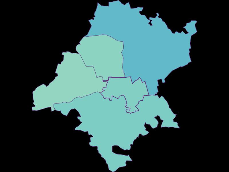 Share of foreigners in Judenau-Baumgarten