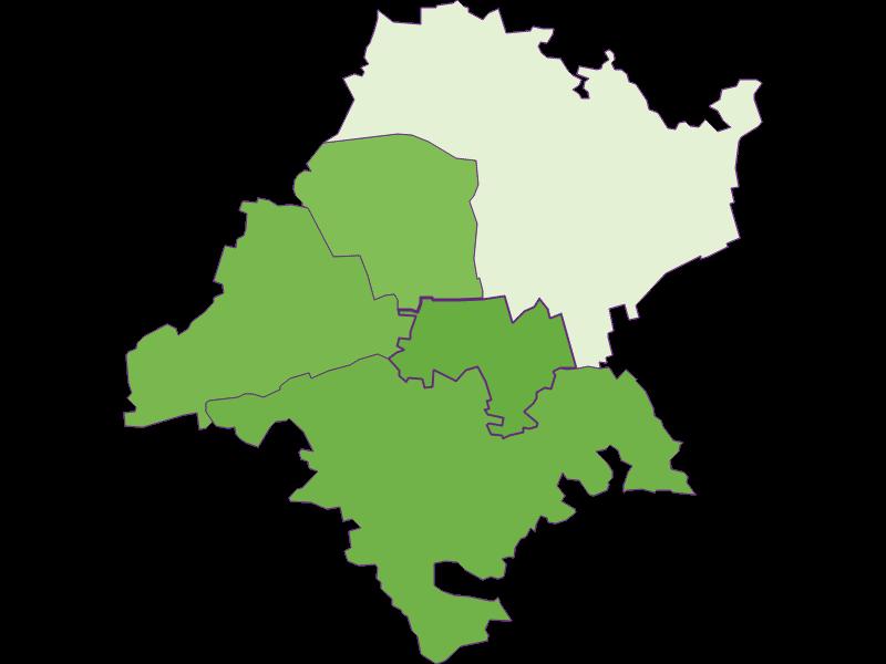 Settlement in Judenau-Baumgarten
