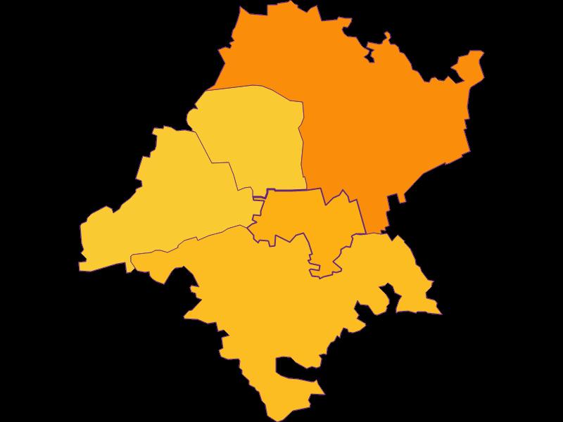 Population density in Judenau-Baumgarten