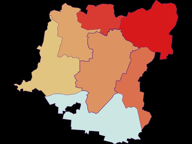 Population development since 1900 in Kirchberg am Wagram