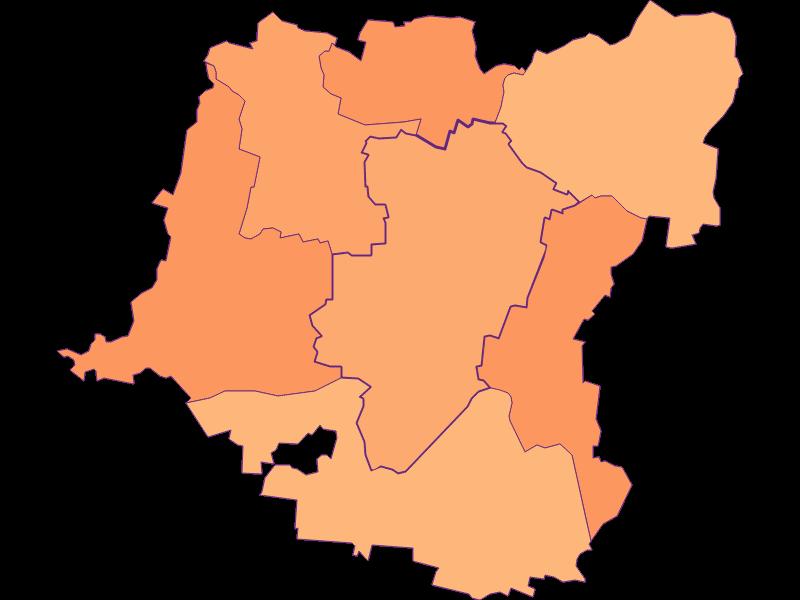 Household size in Kirchberg am Wagram