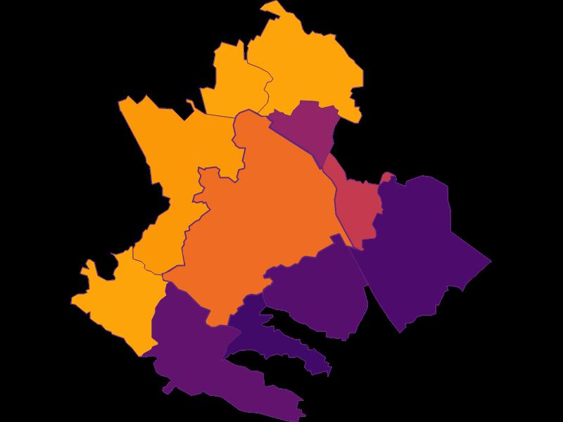 Плотность населения в Klosterneuburg