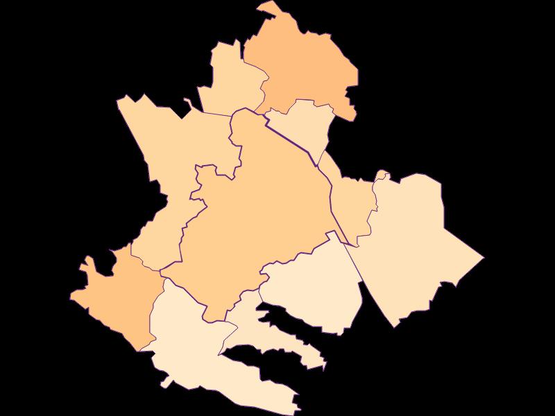 Размер домохозяйства в Klosterneuburg