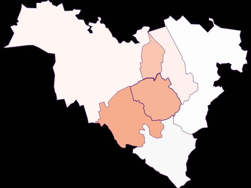 Activity rate in Königstetten