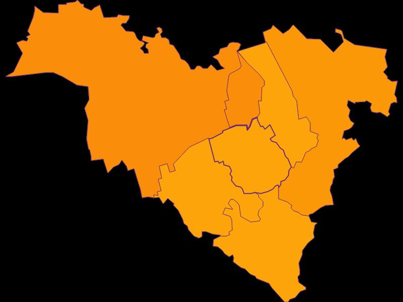 Плотность населения в Königstetten