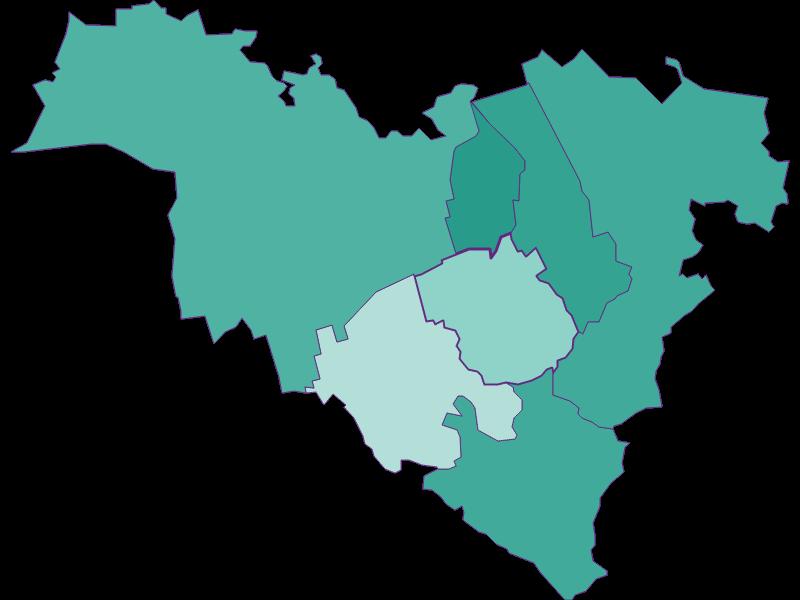 Population development since 1869 in Königstetten