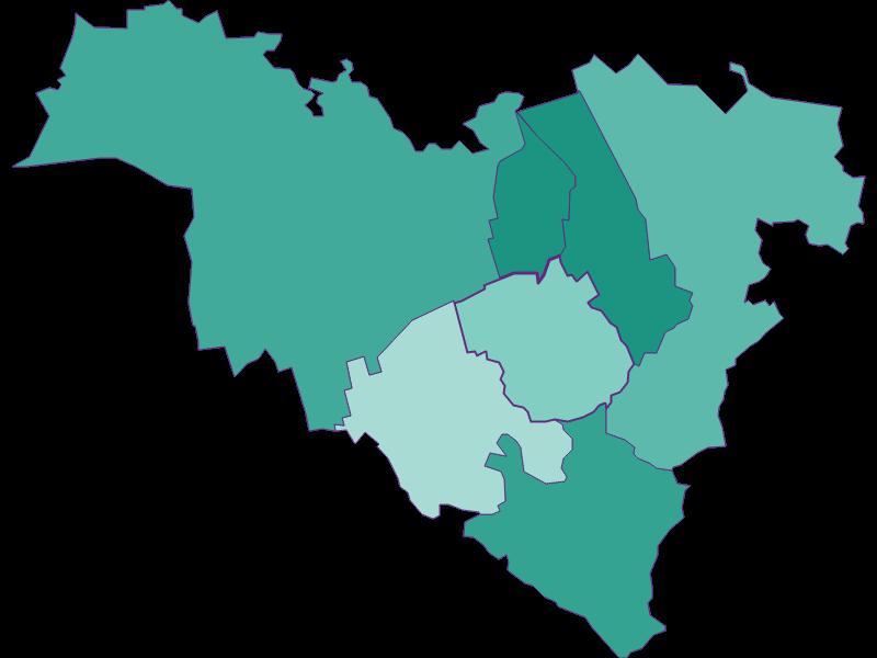 Population development since 1900 in Königstetten