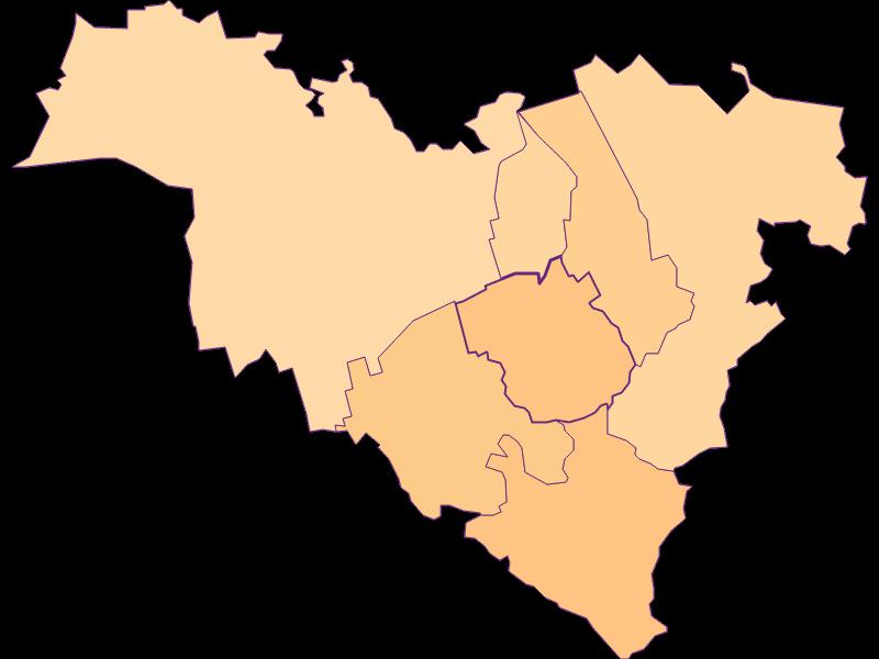 Размер домохозяйства в Königstetten