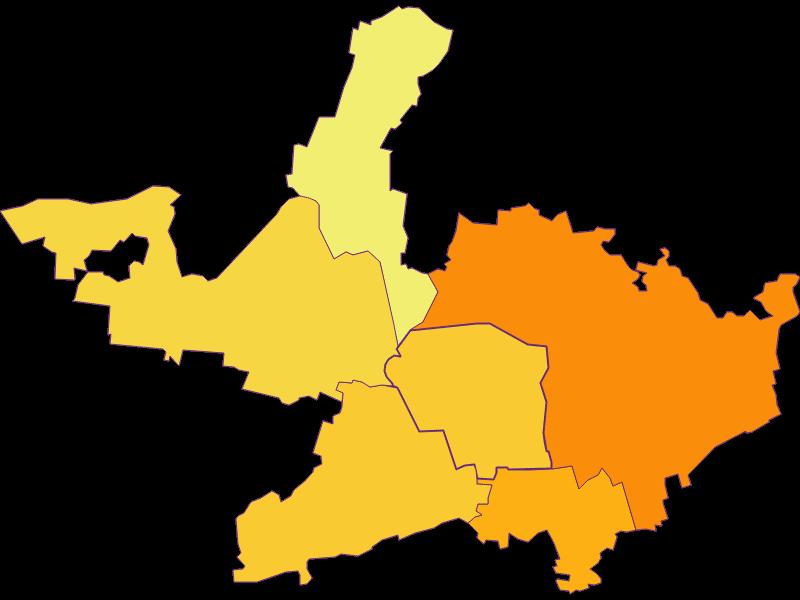 Плотность населения в Langenrohr
