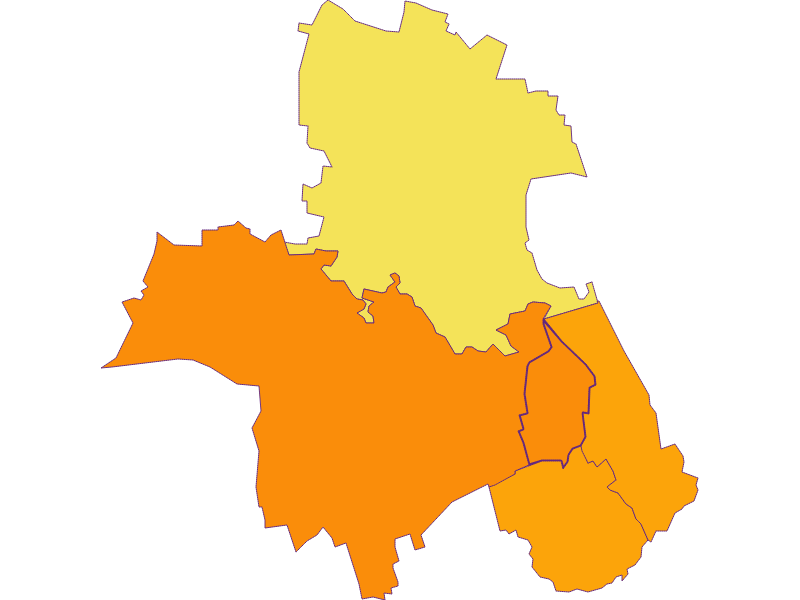 Population density in Muckendorf-Wipfing