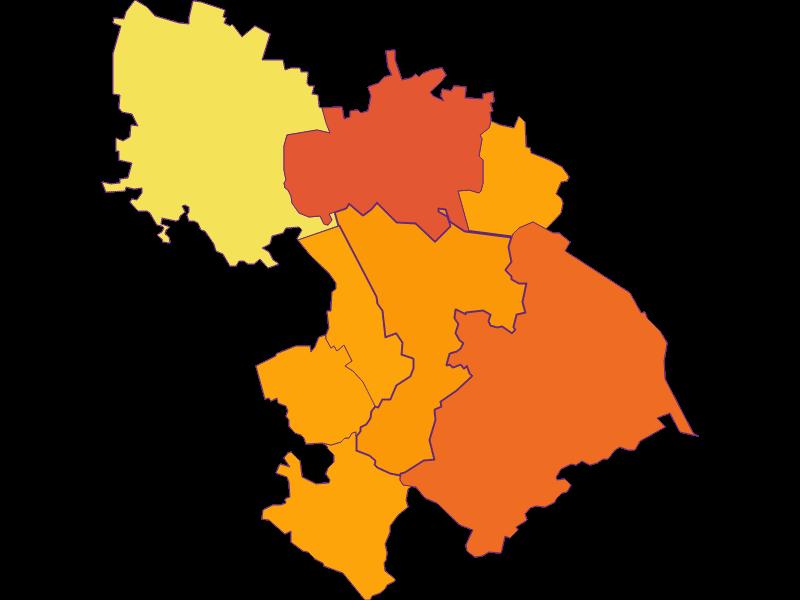 Population density in St. Andrä-Wördern