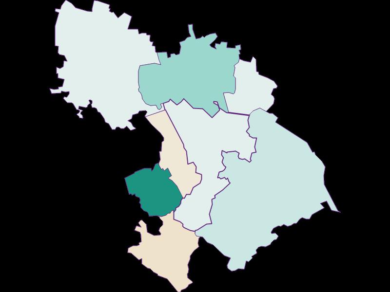 Population development since 2011 in St. Andrä-Wördern