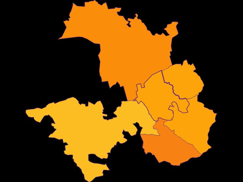 Плотность населения в Tulbing