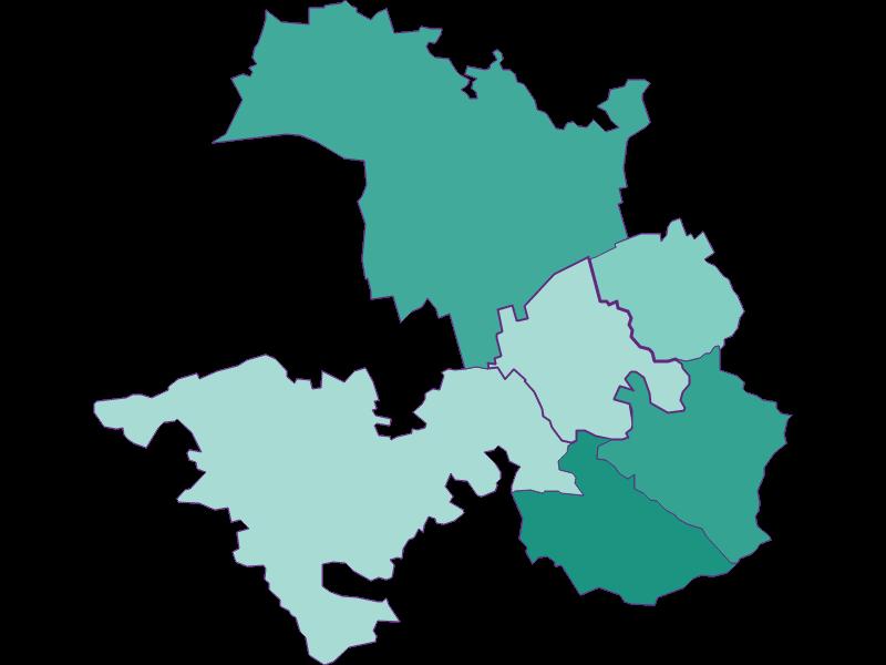Population development since 1900 in Tulbing