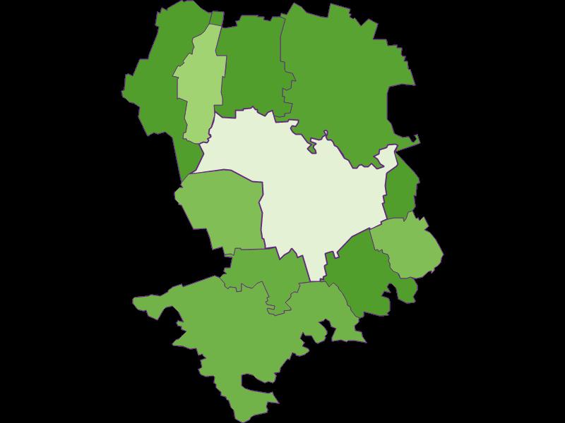 Заселенность в Tulln an der Donau