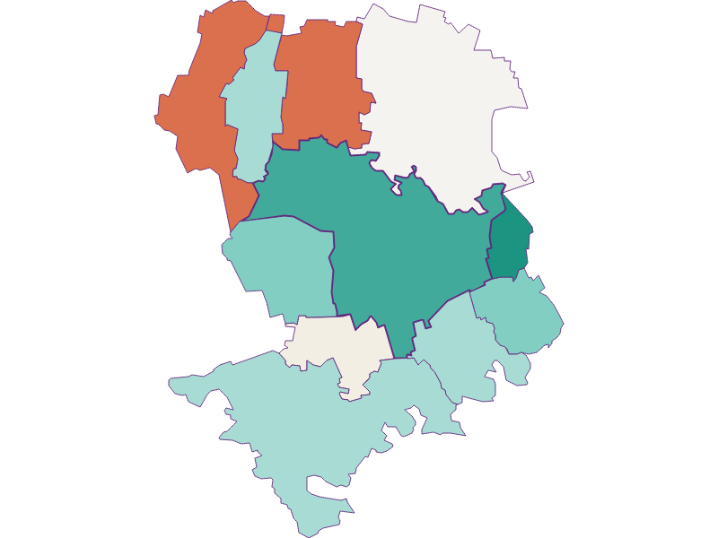 Демография с 1900 года в Tulln an der Donau