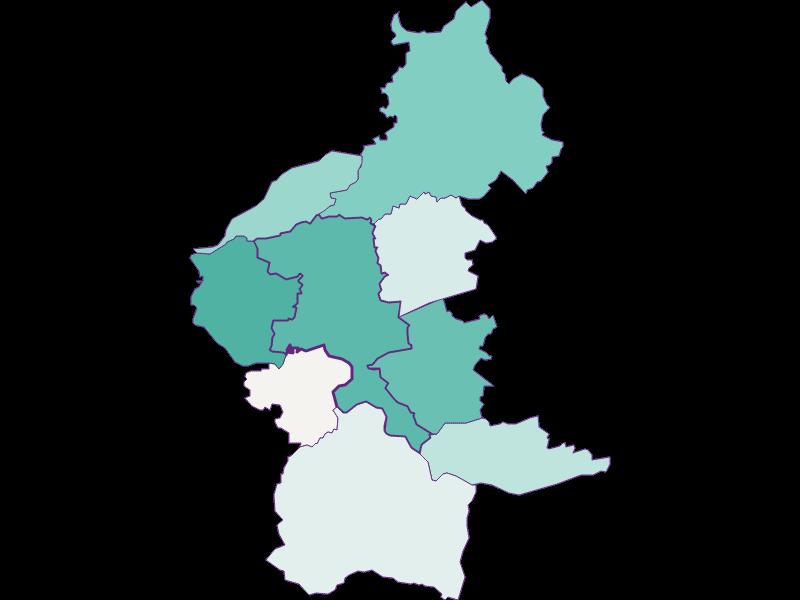 Population development since 1900 in Velden am Wörther See