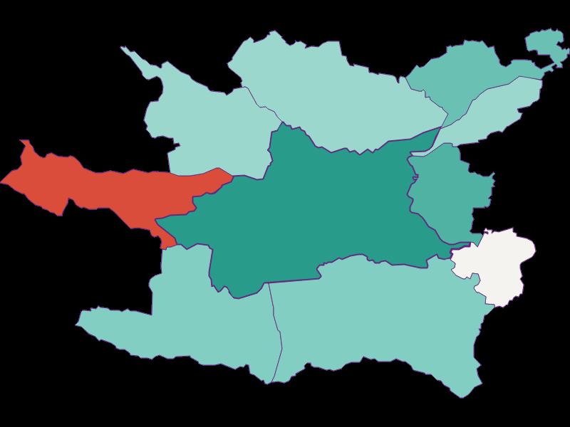 Демография с 1900 года в Villach