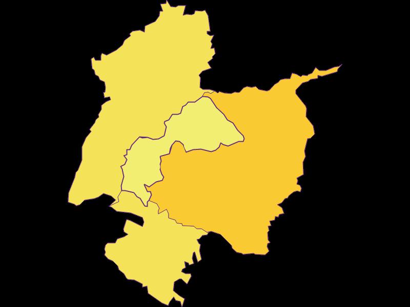 Population density in Redleiten