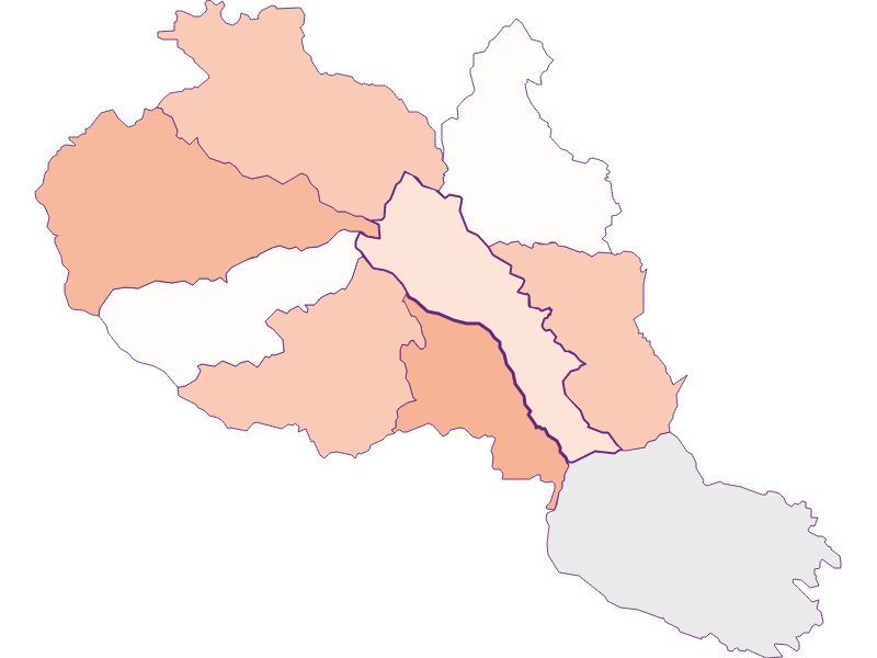 Activity rate in Hirschegg-Pack