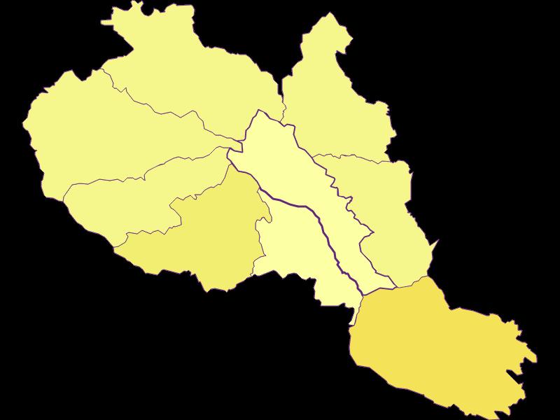Population density in Hirschegg-Pack