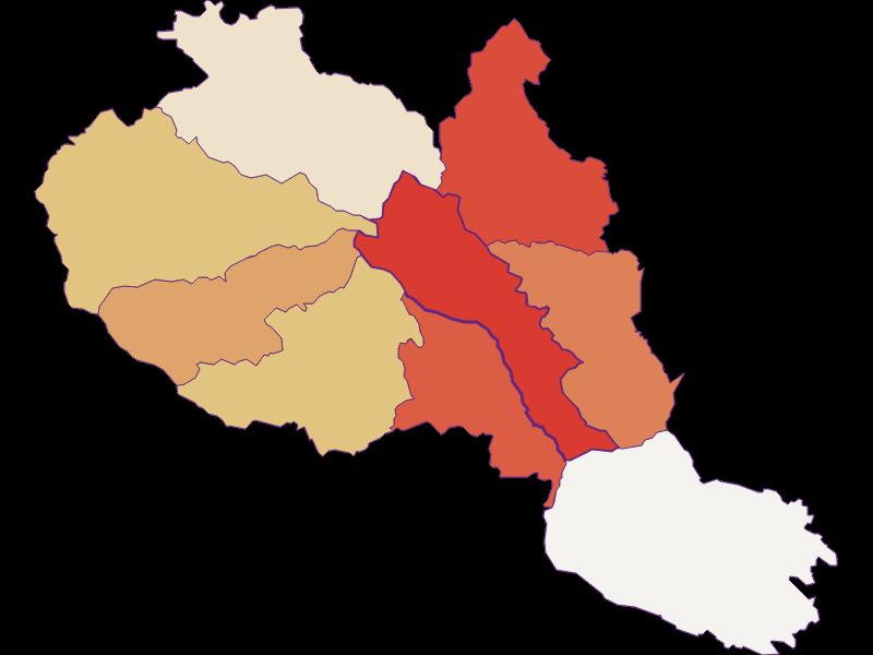 Population development since 1900 in Hirschegg-Pack