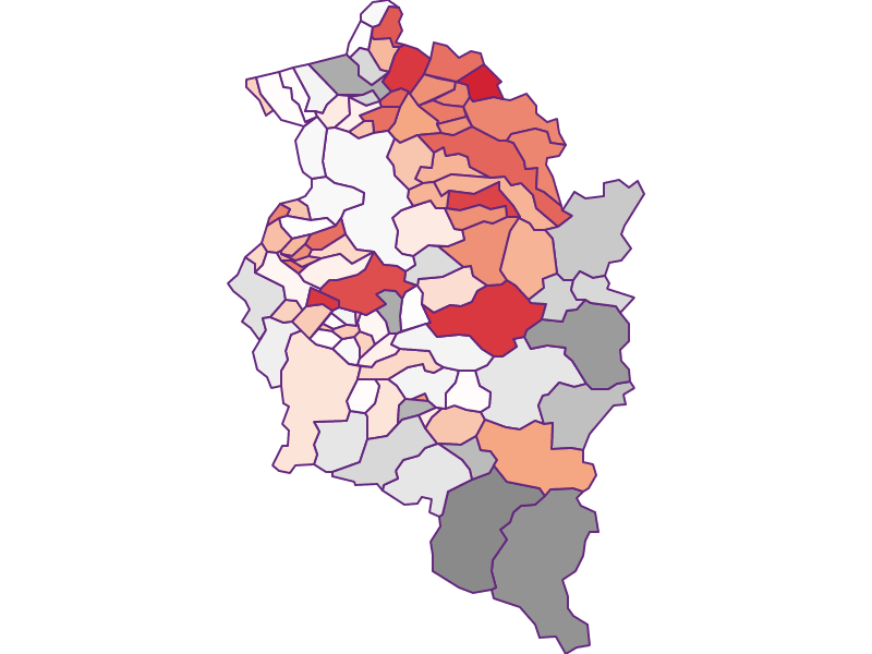 Activity rate in Vorarlberg
