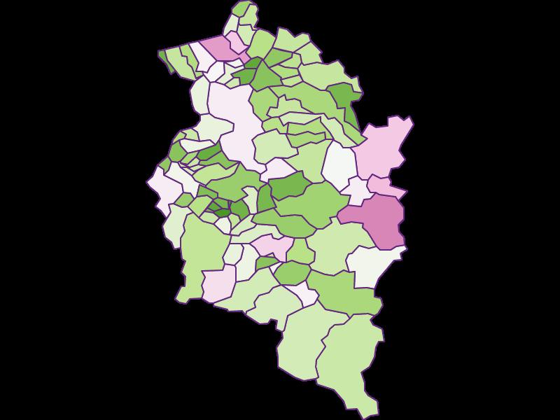Заселенность в Vorarlberg