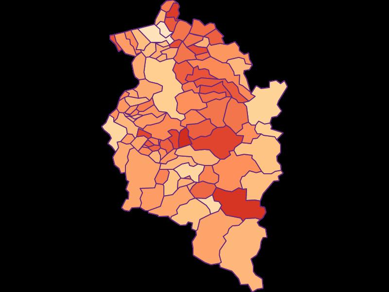 Размер домохозяйства в Vorarlberg