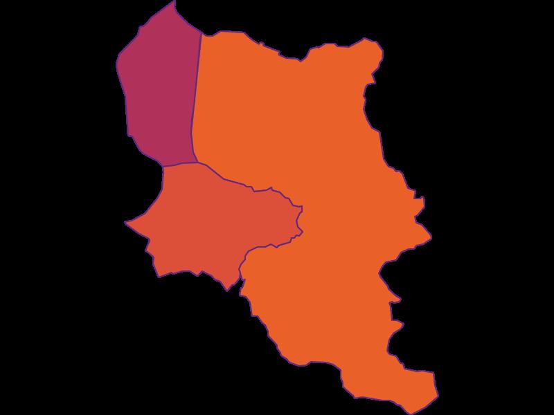 Population density in Dornbirn