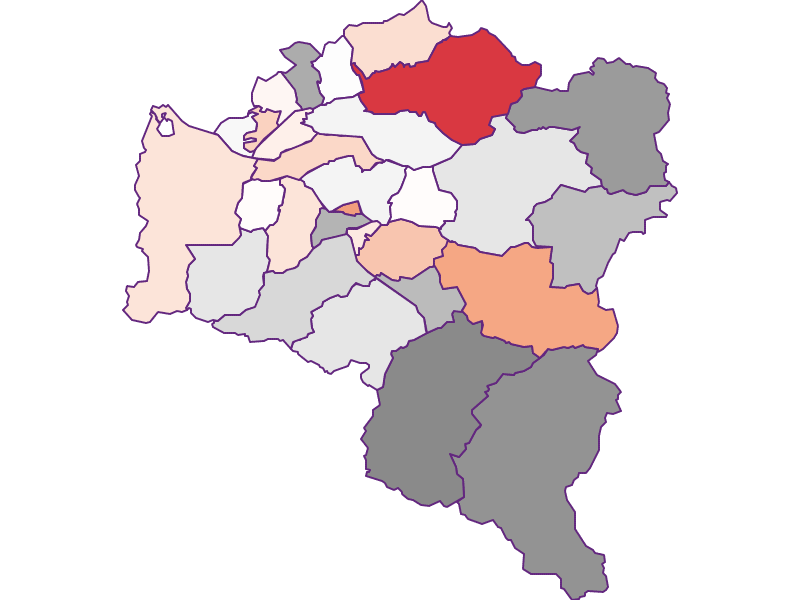 Activity rate in Bludenz
