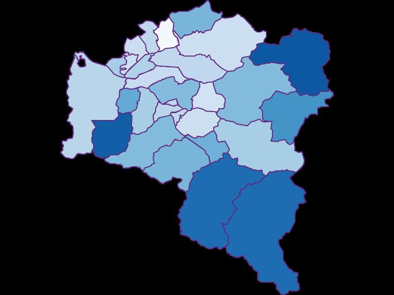 Unemployment in Bludenz