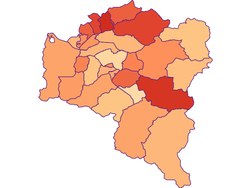 Household size in Bludenz