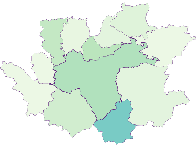 Share of foreigners in Waidhofen an der Ybbs
