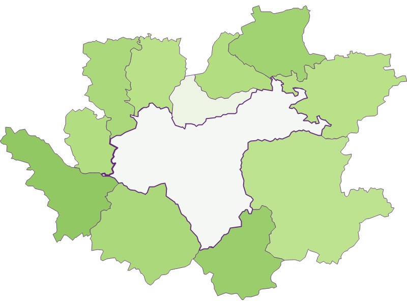 Заселенность в Waidhofen an der Ybbs