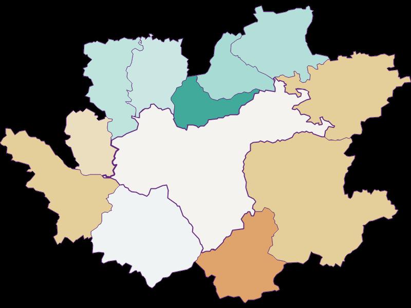 Population development since 1869 in Waidhofen an der Ybbs