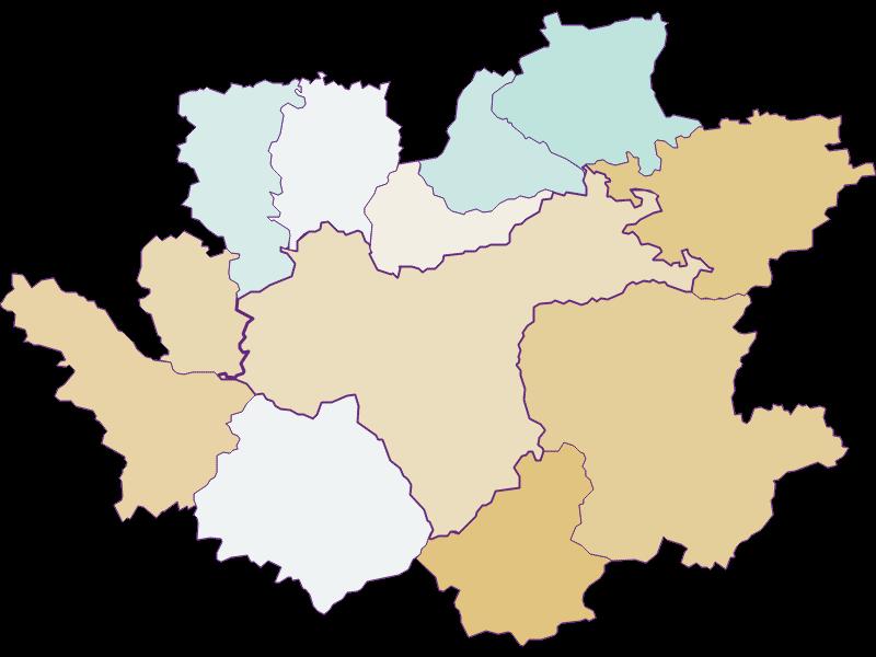 Population development since 1900 in Waidhofen an der Ybbs