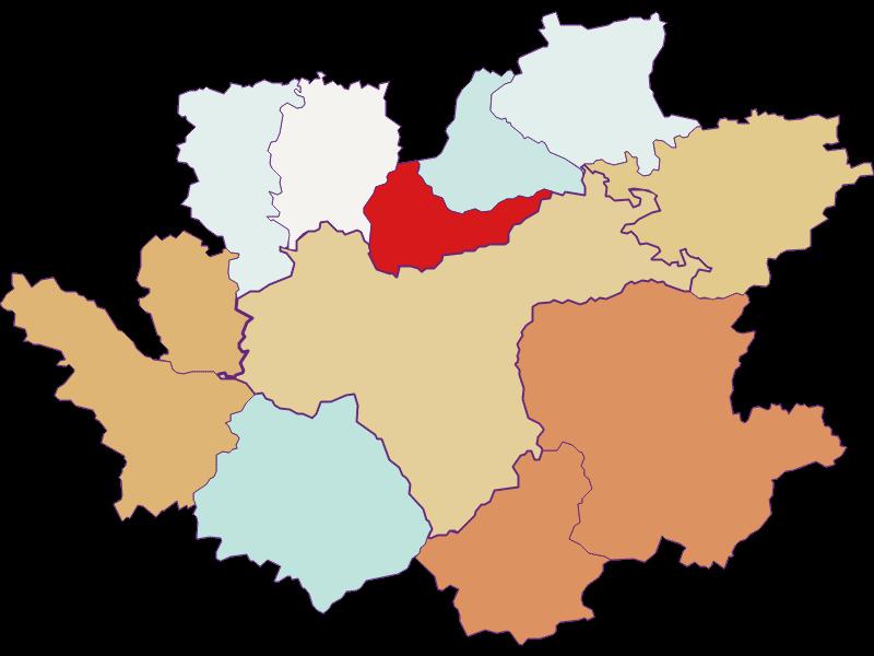 Population development since 2011 in Waidhofen an der Ybbs