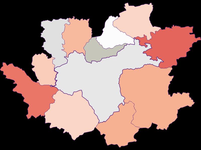 Farmers (comparison to Austria) in Waidhofen an der Ybbs