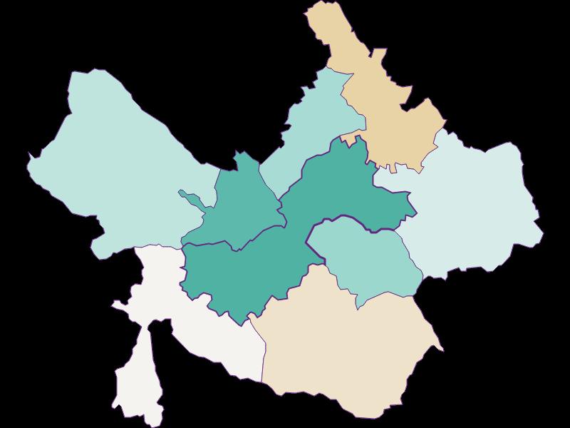Прирост населения за 1869-2018   Gleisdorf