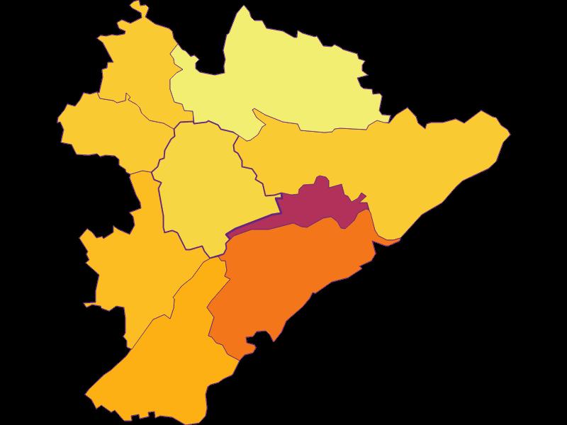 Population Density   Neukirchen bei Lambach