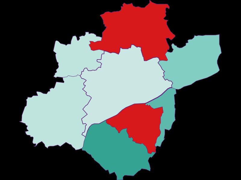Population development since 2011 in Wels