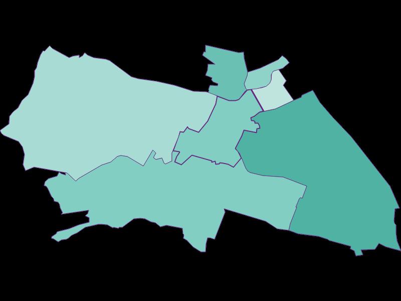 Демография с 2011 года в Wien 12.,Meidling