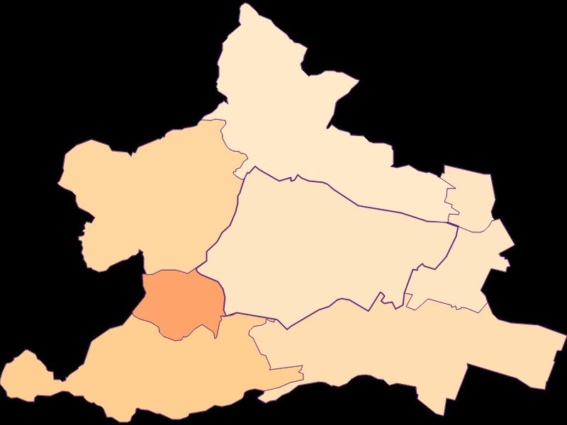 Размер домохозяйства в Wien 13.,Hietzing