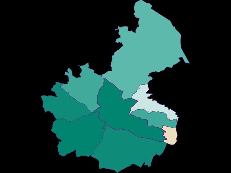 Прирост населения за 1869-2018   Wien 14.,Penzing