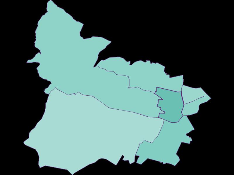 Population development since 2011 in Wien 15.,Rudolfsheim-Fünfhaus