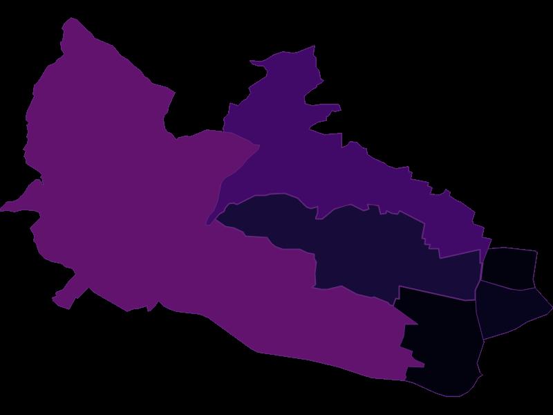 Плотность населения в Wien 16.,Ottakring