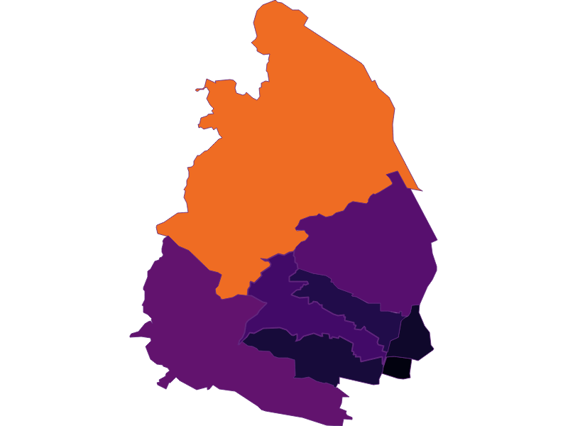 Population density in Wien 17.,Hernals
