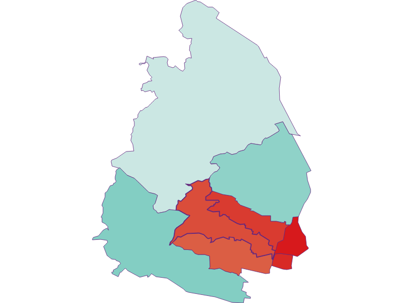 Population development since 1900 in Wien 17.,Hernals